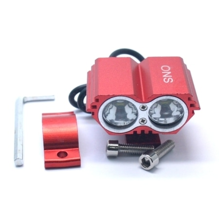 LAMPU TEMBAK ONS-2927 2 LED 20W RED