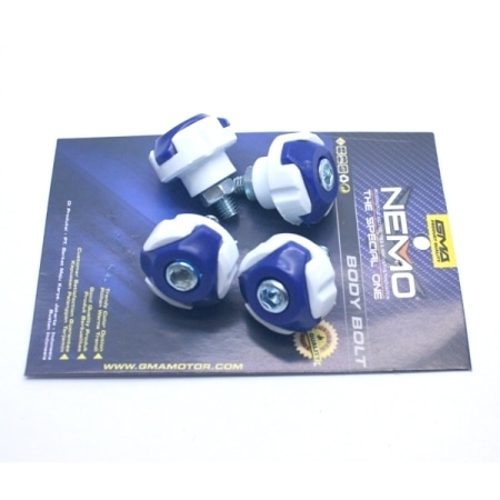BAUT NEMO COVER BODY BLUE-WHITE (ISI 4PCS)