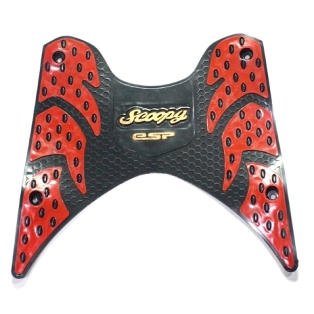 KARPET KARET SCOOPY ESP RED 2TONE
