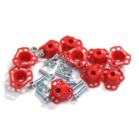 MONEL SEGITIGA SHARKY MERAH (ISI 10PCS)