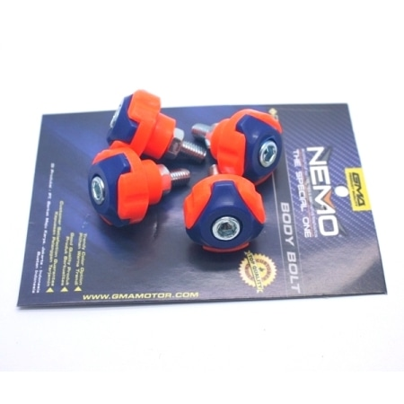 BAUT NEMO COVER BODY BLUE-ORANGE (ISI 4PCS)