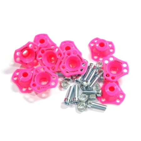 MONEL SEGITIGA SHARKY PINK (ISI 10PCS)