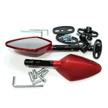 SPION GMA-1223 GAGANG TOMOK BLACK-RED