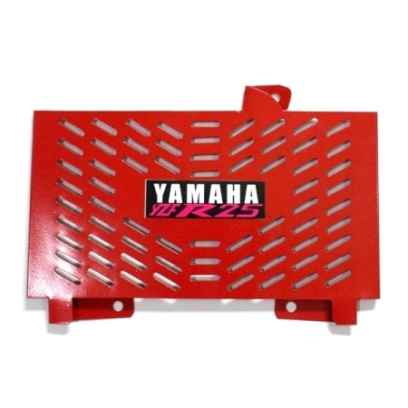 TUTUP RADIATOR YAMAHA R-25 RED