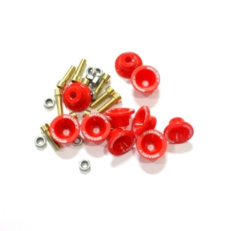 MONEL+BAUT SHARKY ABS MERAH (ISI 10PCS)