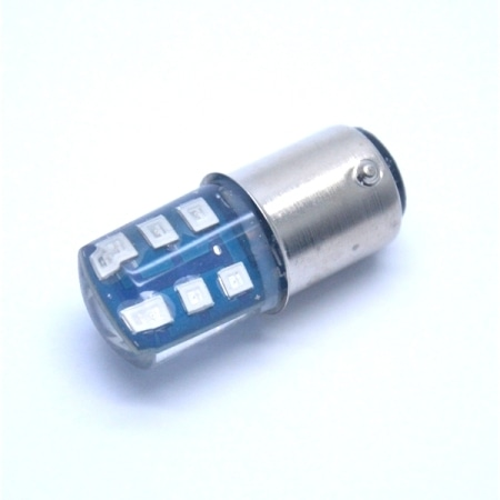 LAMPU STOP 12 LED BLUE JELI FLASH