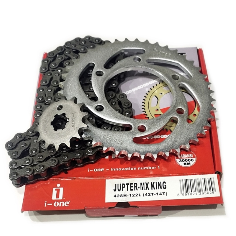 CHAIN KIT i-one JUPTER MX-KING 428H-122L (42T-14T)