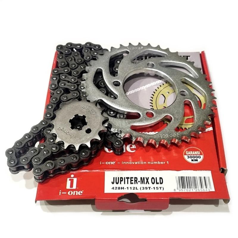 CHAIN KIT i-one JUPITER-MX OLD 428H-112L (39T-15T)