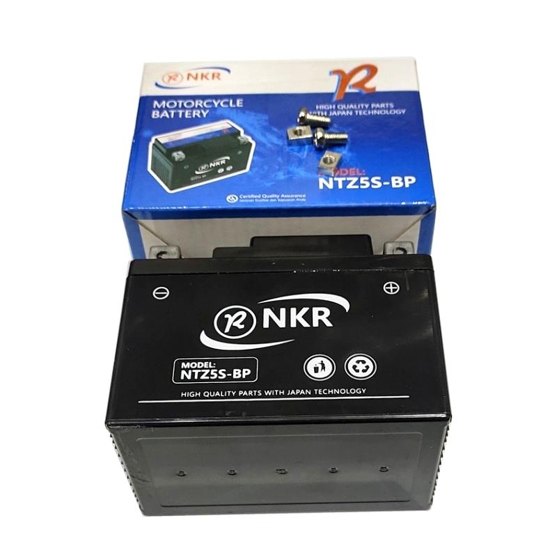 AKI / ACCU KERING NKR NTZ5S-BP MIO/MX/VEGA-ZR/SMASH