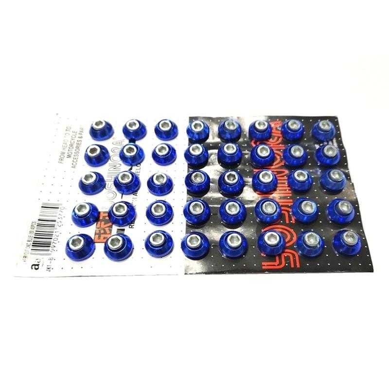 BAUT L KERUCUT CNC BLUE (ISI 40PCS)