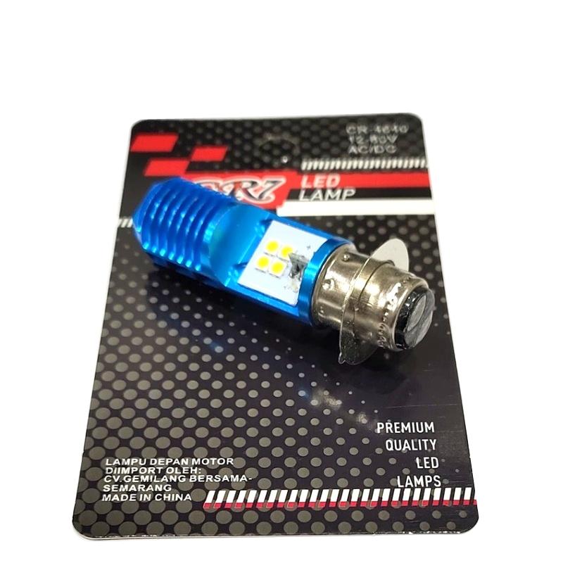 BOLAM XENON H6 AC/DC 8 LED 4640 CR7 GRAND BLUE