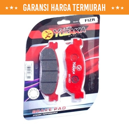 BRAKE PAD YUZAKA F1ZR