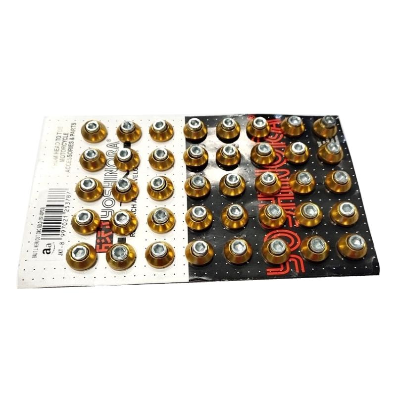 BAUT L KERUCUT CNC GOLD (ISI 40PCS)