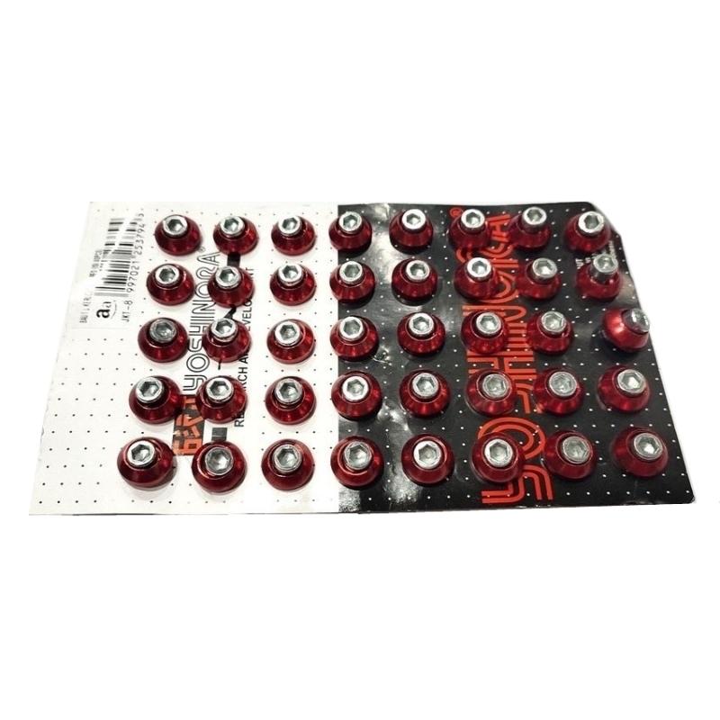 BAUT L KERUCUT CNC RED (ISI 40PCS)