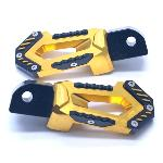 FOOT STEP BELAKANG CNC N-MAX GOLD GOYO