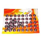 BAUT KEMBANG RING SISIK RED (ISI 40PCS)
