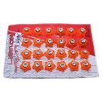BAUT MICA BINTANG ORANGE (ISI 24PCS)