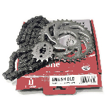 CHAIN KIT i-one SMASH OLD 428H-100L (35T-14T)