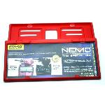 BINGKAI PLAT NO NEMO AUTO 2000 RED