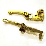HANLDE CKS LIPAT CNC NJ23 KLX 150 GOLD